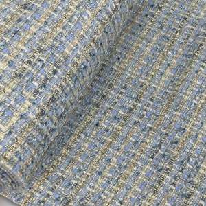 Chanel Blue- tweed jacquard