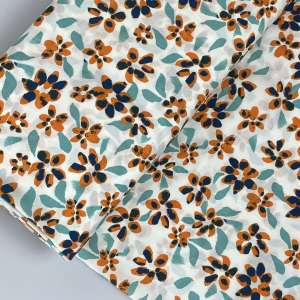 Fresh daisy- viscose