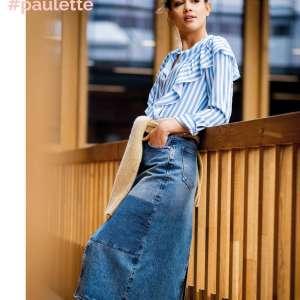 Paulette stripe- viscose