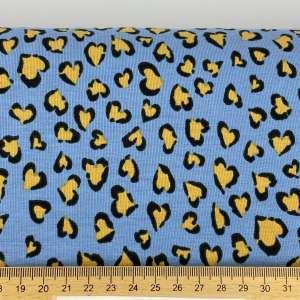 Panter blue spots – organisch katoen tricot