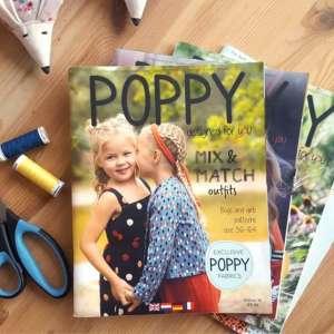 Poppy editie 16- magazine Boys and girls 56-164