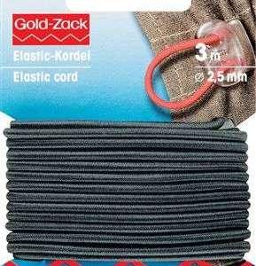 Elastisch koord 2,5mm zwart 971231