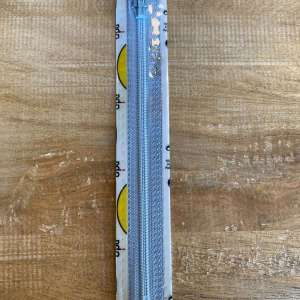 Broek rits 15cm indigo blauw col 0259