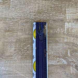 Spiraalrits deelbaar 40cm donker blauw col 0210