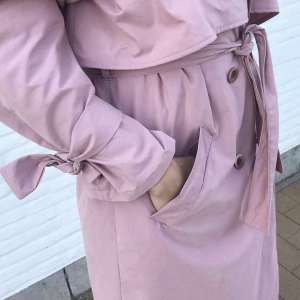 Old pink- Trenchcoat