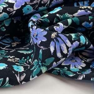 Lila flowers- viscose