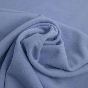Grey blue -Scuba crêpe TWILL