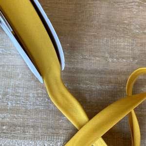 Mustard- popeline biais