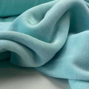 Pearl Aqua- nicky velours spons