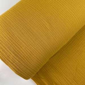 Yellow – tetra katoen mousseline
