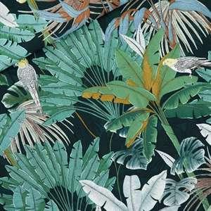 Jungle green gables- viscose