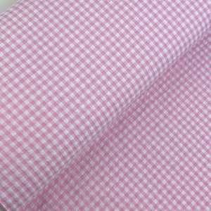 Pink Vichy- Seersucker