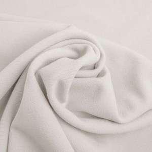 Soft white -Scuba crêpe TWILL
