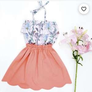 Donna jurk, top en rok -smospotten en snoesjes