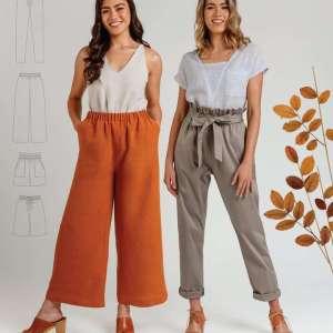 Opal pants- Megan nielsen patterns