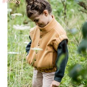 Mickey Hazel- recycled brushed sweater