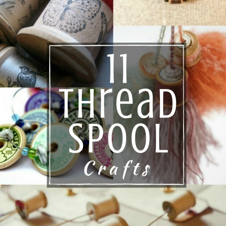 Vintage Thread Spools DIY Project The Sewing Loft
