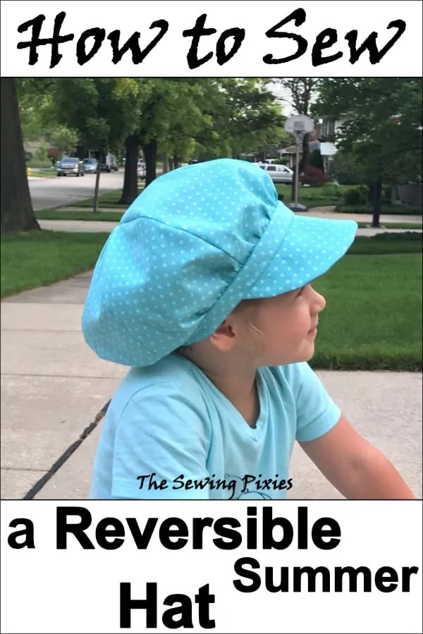2d58818aa06 How To Sew A Reversible Newsboy Hat - The Sewing Pixies