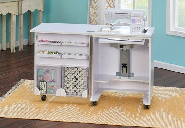 compact front open white 650