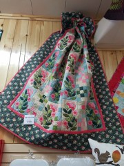 """New Quilt for our new pattern """"Mosiac Vine"""""""