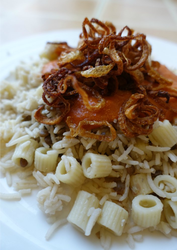 Kushari Recipe A taste of Egypt | thesewist.me