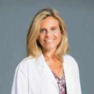 Female doctor in lab coat