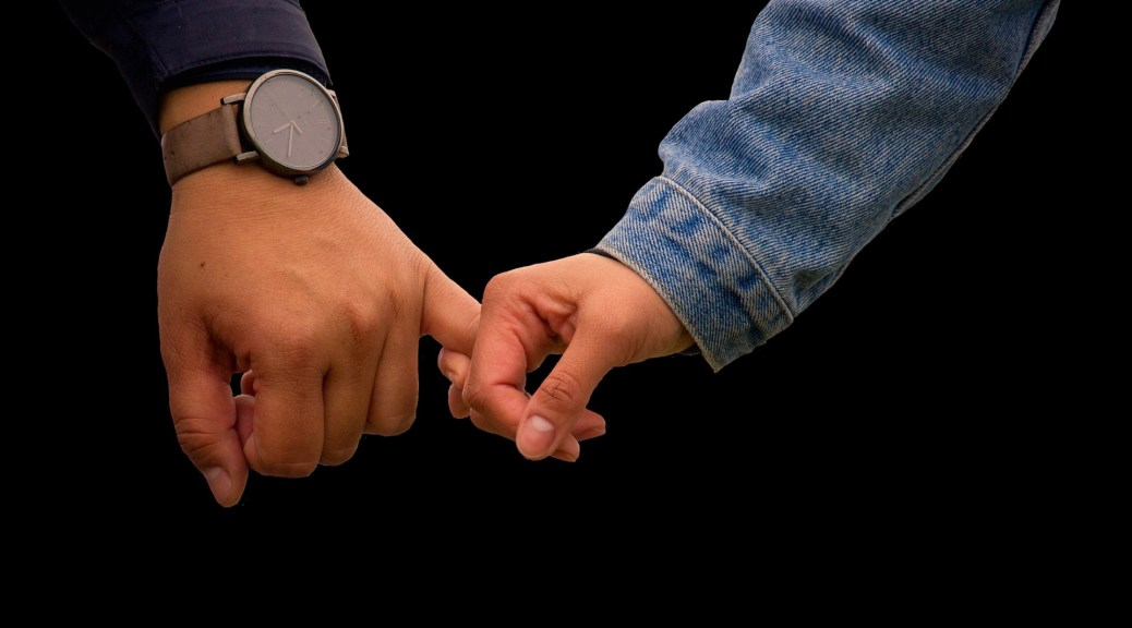 holding hands image