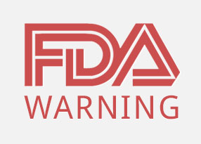 FDA Warning sign