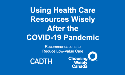 SGEM Xtra: High-Value Care Post Covid19 – Did you ever have to make up your mind?