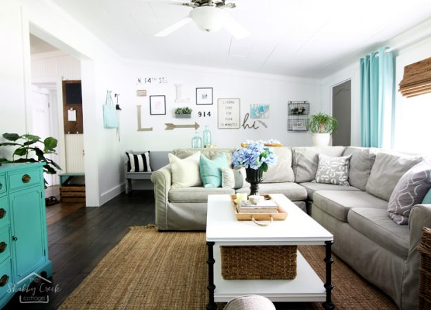 Farmhouse Style Home Tours Full Of Summer Decorating