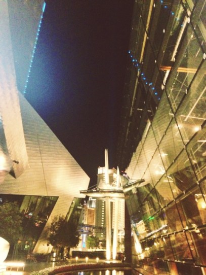 Aria. Loved the modern architecture and the awesome angles and glass windows used.