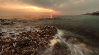 Albustan beach by Uwe Richter