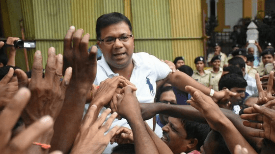 Muslims' First choice BJP candidate Vishwajeet registers massive victory in Goa assembly bye polls