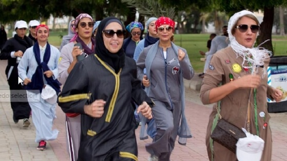 Saudi women seek healthy environment through running, a rare initiative by Bliss Run