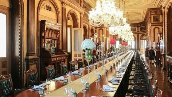 World's largest dining table at Nizam's Taj Falaknuma Palace decked for Modi-Ivanka dinner
