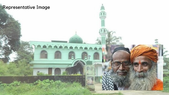Temple President donates land for Mosque expansion