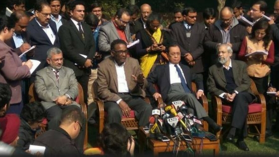 """The administration of the Supreme Court is not in order"", Four SC judges come out against CJI"