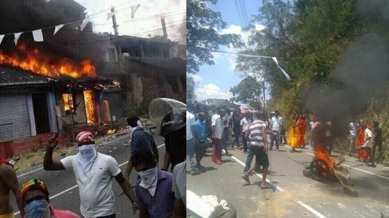 Image result for kandy anti muslim riots
