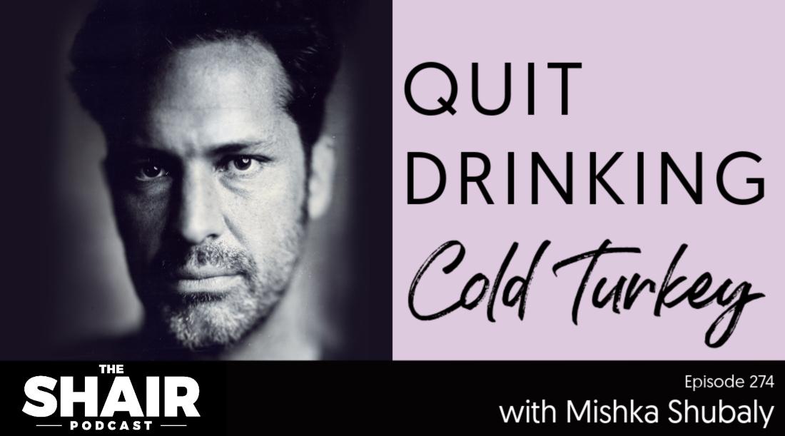 quit drinking cold turkey