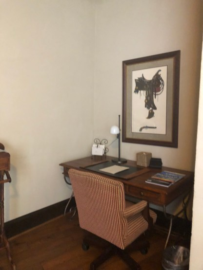 Desk in Presidential Suite