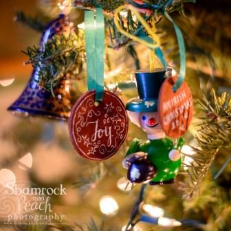 Ornaments of Joy at Chrismtas
