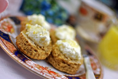 Lemon Ginger scones