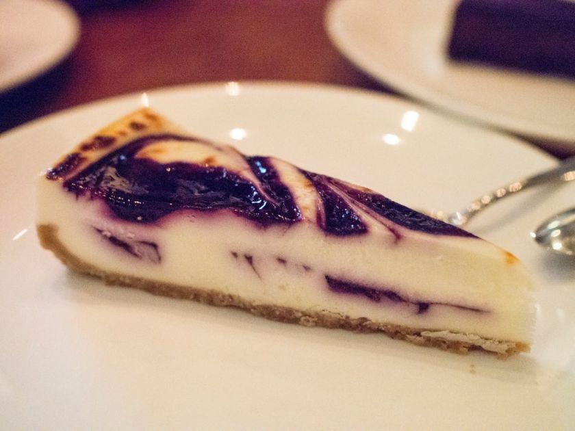 Blueberry Cheesecake @ Beef & Liberty Shanghai