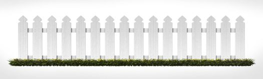 White Picket Fence - Neighbor 1a