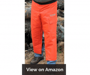Protective Industrial Products Men's Apron Style Chainsaw Chaps