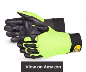 Endura Hi-Viz Cut-Resistant Chainsaw Gloves 385CS/XL