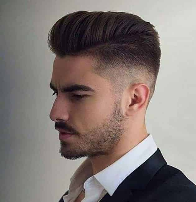 Flat Pompadour Hairstyle