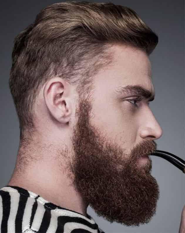 Full Long Curly Beard