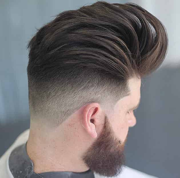 Long Pompadour Hairstyle