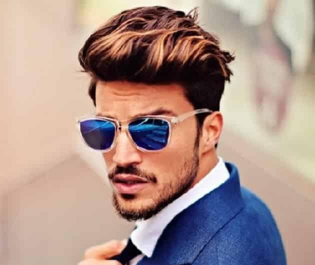 Medium Pompadour Hairstyle